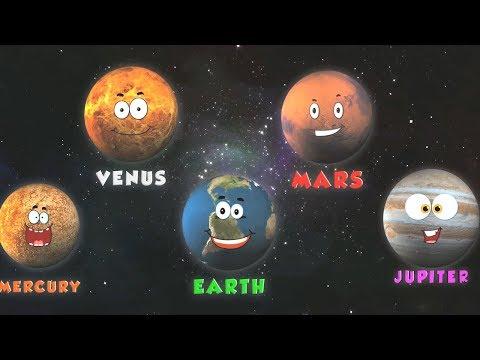 pianeti canzone | Canzone educativa per bambini | Impara i pianeti | Planets Song | Learn Planets
