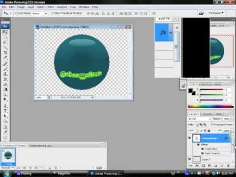 Adobe photoshop cs6/CC - how to make an animated gif.
