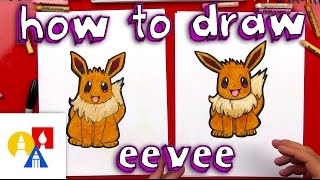 Download How To Draw Eevee Pokemon 3Gp Mp4