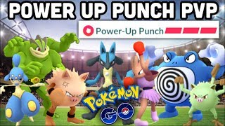 LUCARIO POWER UP PUNCH IN PVP POKEMON GO | 100% BUFF EVERY TIME