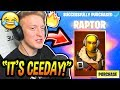 Tfue BUYS & LOVES His *NEW* RAPTOR SKIN! (CEEDAYS SKIN!) Fortnite FUNNY & EPIC Moments