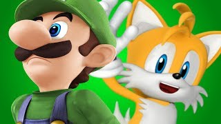 Luigi Vs Tails (THE SIDEKICK ROYALE)- Gaming All Star Rap Battles Season 2