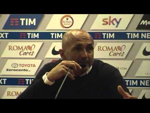 ROMA TORINO Conferenza post gara