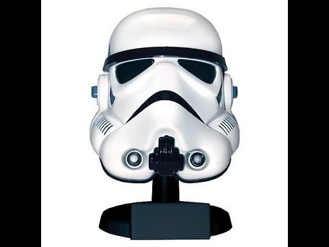 Star Wars Stormtrooper Scaled Helmet Master Replicas HD Review | www.flyguy.net
