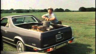 1983 Chevrolet El Camino model introduction film