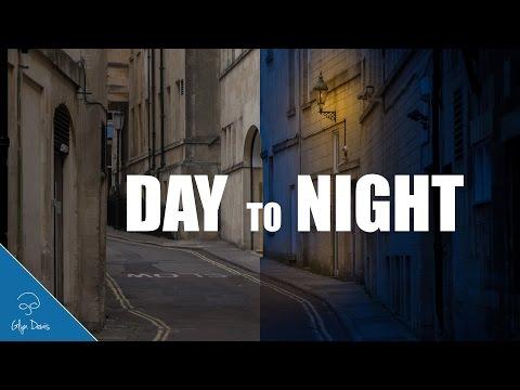 درس فوتوشوب تحويل النهار الى ليل 2014