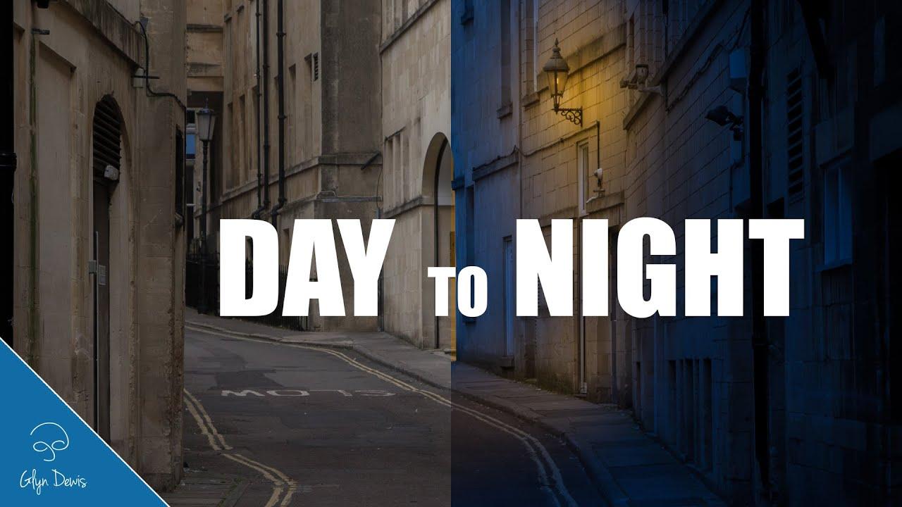 Как сделать из ночи день фотошоп