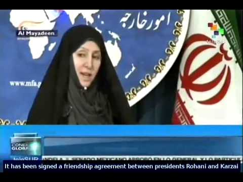 Afghanistan signs regional security deal with Iran
