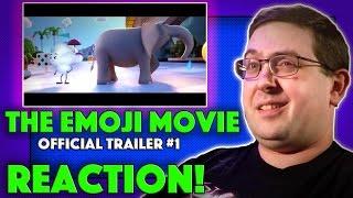 REACTION! The Emoji Movie Trailer #1 - T.J. Miller Movie 2017 🤔 😵 💩