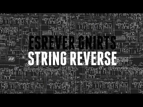 Алгоритм переворота строки (String reverse)