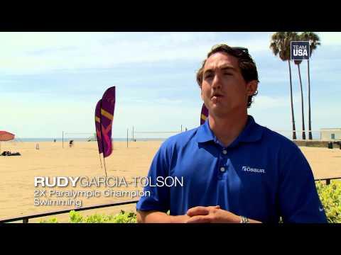 What A #LA2024 Bid Means To Rudy Garcia-Tolson
