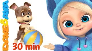 🐶 Nursery Rhymes and Kids Songs | Popular Baby Songs from Dave and Ava 🐶