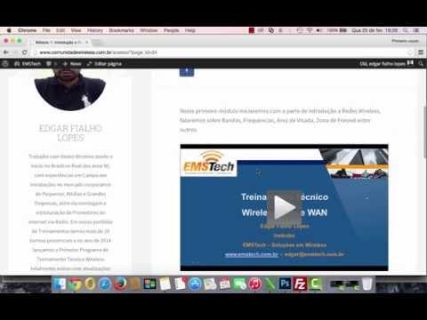 Programa de Treinamento Técnico Wireless Versão 2.0