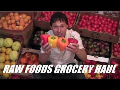 Raw Vegan Grocery Haul + Raw Food Tips