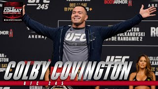UFC 245: Colby Covington promises to KO Kamaru Usman, has harsh response to Jon Jones
