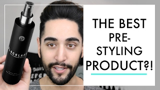 The Best Pre Styling Product For Men? - GIVEAWAY! Volume + Hold - Men's Grooming 2017 ✖ James Welsh