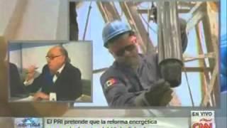 Alfredo Jalife con Carmen Aristegui CNN Reforma energética