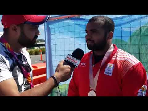 Pardeep Singh Won Silver Medal For India In 105KG Weightlifting | CWG 2018 | Interview
