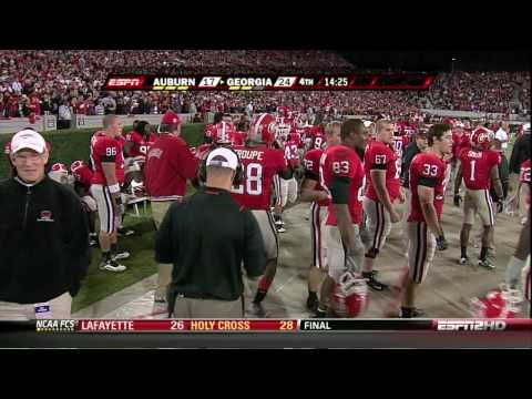 Georgia Bulldogs vs Auburn :: Caleb King's TouchDowns during the game (HD)!! Video