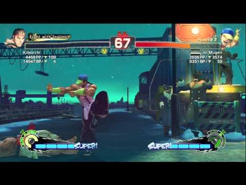 Ryu(Kimorchi) VS Yun(Jin Mugen)