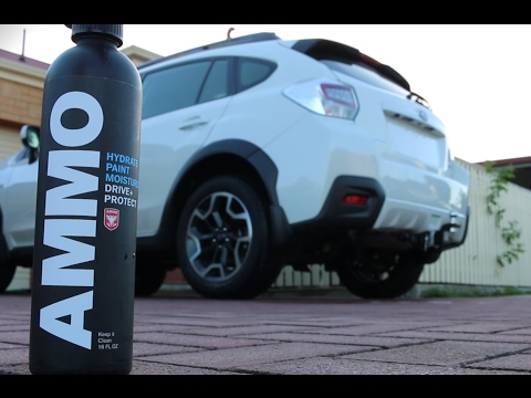 AMMO Paint Regimen Kit Test   2016 Subaru XV   Detailing Video