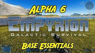 "Empyrion – Galactic Survival - Alpha 6 - ""Base Essentials"""