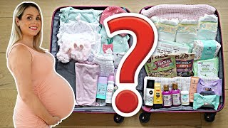 WHAT'S iNSiDE MY HOSPiTAL BAG FOR GiViNG BiRTH? 👶