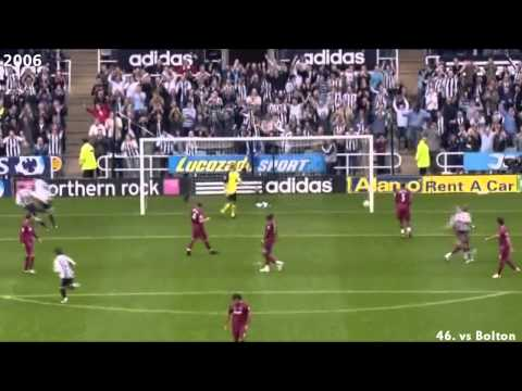Shola Ameobi - All 72 goals for Newcastle