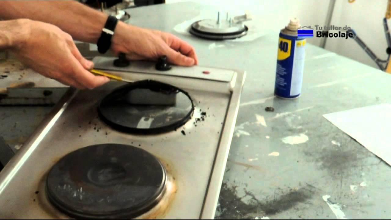 C mo reparar la placa el ctrica de la cocina youtube - Plancha de cocina para empotrar ...
