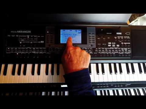Korg MicroArranger Developing Backing Tracks Video 2
