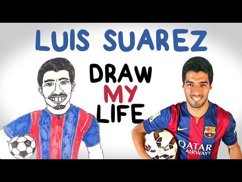 Luis Suárez | Draw My Life