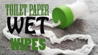 DIY: TOILET PAPER wet wipes...