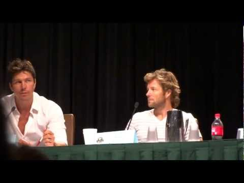 Dragon*Con 2012 Day 1 - Michael Trucco Discusses How His Car Accident Effected Anders