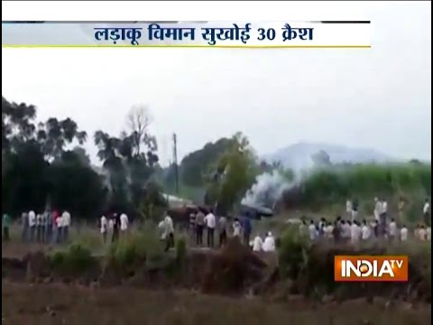 Sukhoi 30 fighter aircraft crashes near Pune, pilots eject safely