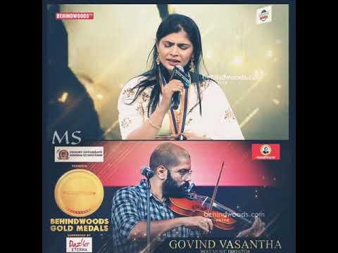 Download Lagu  💕 96 Movie 💕 Kaathalae Kaathalae Live Performance By Legends Chinmayi & Govind Vasantha 🎶 Mp3 Free