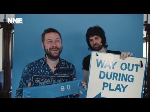 NME at Serge's House: Kasabian show us their Leicester City treasures