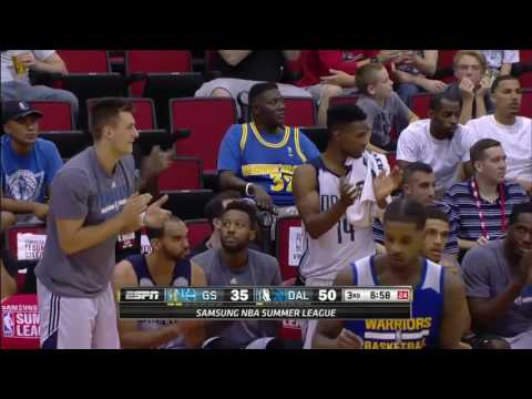 Golden State Warriors vs Dallas Mavericks | NBA Las Vegas Summer League 2016