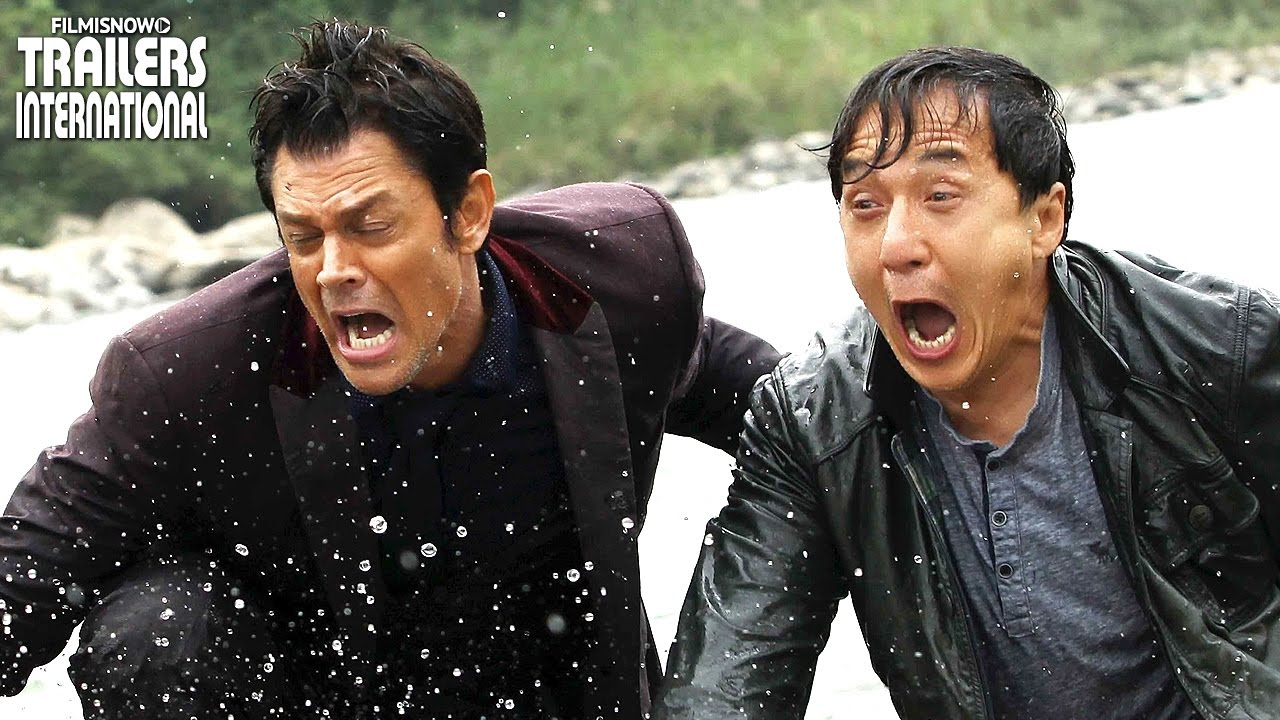 Fora Do Rumo com Jackie Chan e Johnny Knoxville | Trailer Leg + Dub [HD]