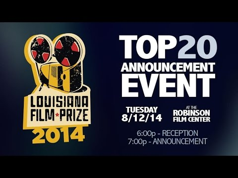 Join the the coolest film contest on the planet and watch live as the twenty films are selected for the 2014 festival weekend, and eligible contenders for the $50000 cash prize. The Louisiana...