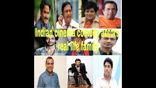 Indian Cinema comedy  actors real life family