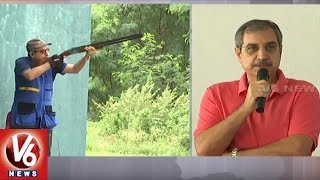 Telangana State Shooting Competitions Ended In Hyderabad Central University