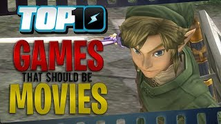 Top 10 Games That Should Be Movies