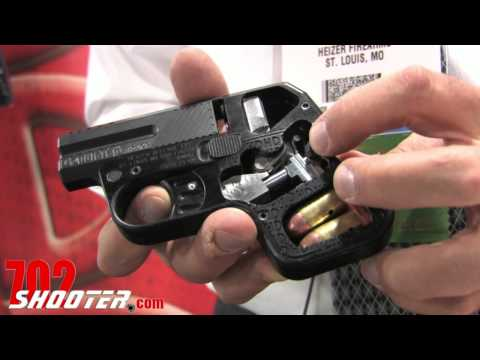 Heizer Defense DoubleTap Titanium Pocket Pistol 2012 Shot Show