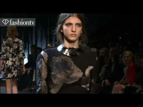 Lanvin Runway Show Fall 2011 Paris Fashion Week | FashionTV - FTV.com