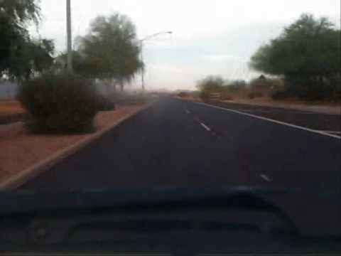 Driving in Mesa/Apache Junction Arizona