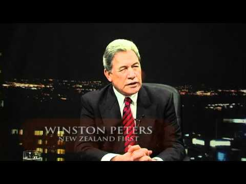 Winston Peters on the Beat Goes On