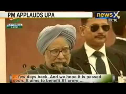 News X: Prime Minister Manmohan Singh's Independence Day Speech