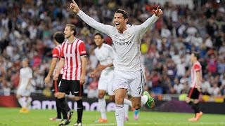 Real Madrid 5-0 Athletic de Bilbao Goles Audio Cope  05/10/14 LIGA BBVA