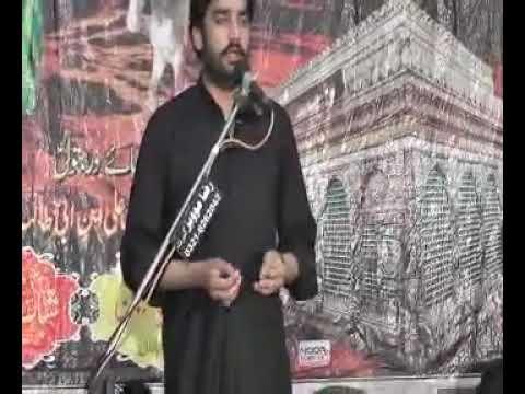 9 Muharam 2015 Zakir Waseem Abbas Baloch Kharota Syedan Sialkot Shahdat Shazada Ali Akbar