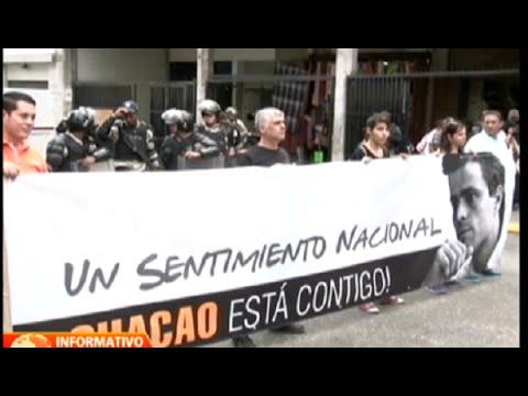 Leopoldo López denuncia a Nicolás Maduro por muertes registradas durante protestas del 12 de febrero